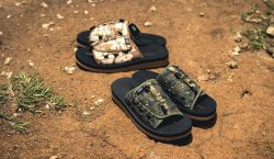 CLOT e SUICOKE colaboram em sandálias com print camuflado
