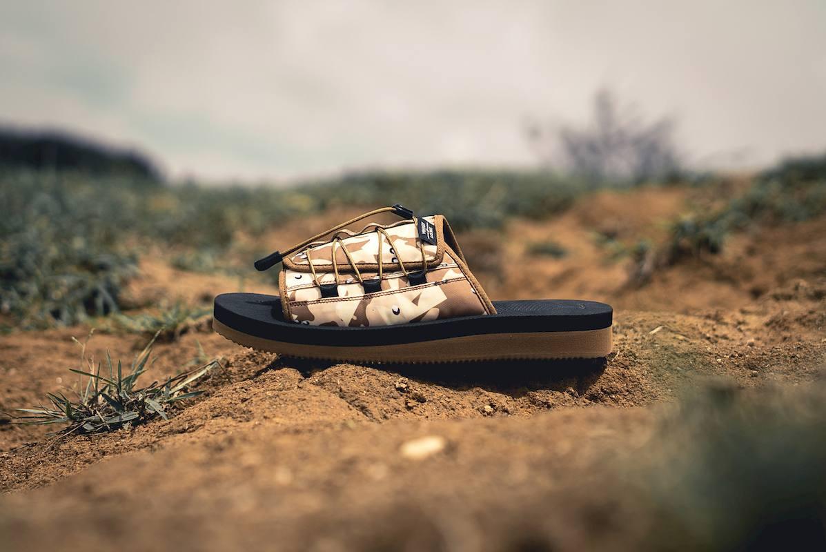 suicoke clot sandalias collab 2 - CLOT e SUICOKE colaboram em sandálias com print camuflado