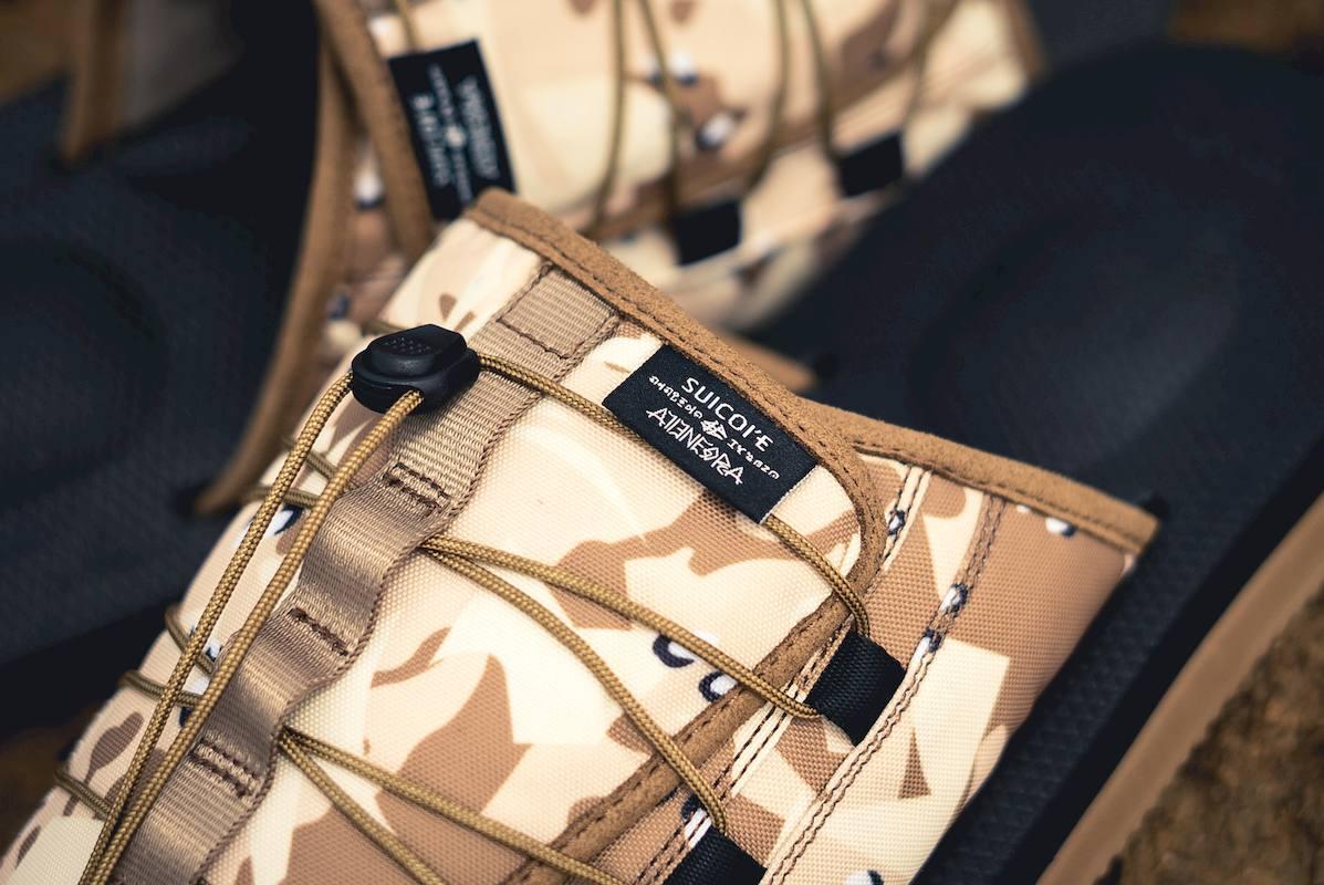 suicoke clot sandalias collab 3 - CLOT e SUICOKE colaboram em sandálias com print camuflado