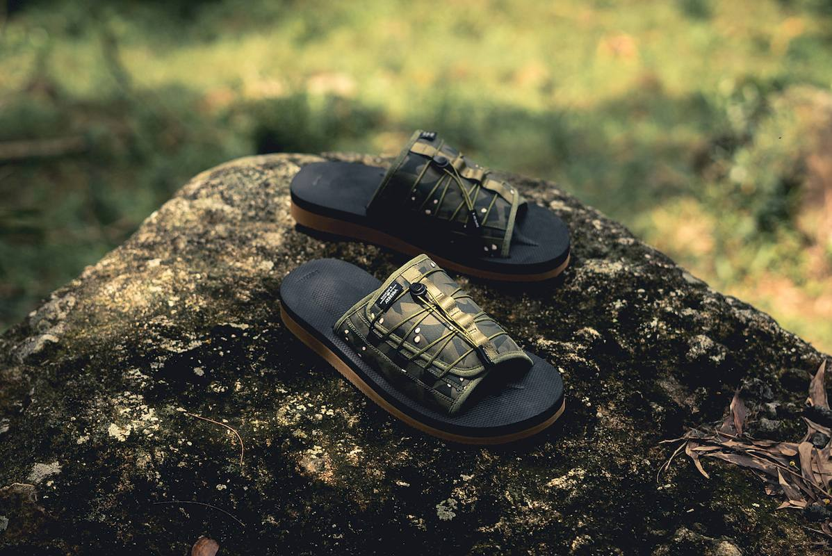 suicoke clot sandalias collab 4 - CLOT e SUICOKE colaboram em sandálias com print camuflado