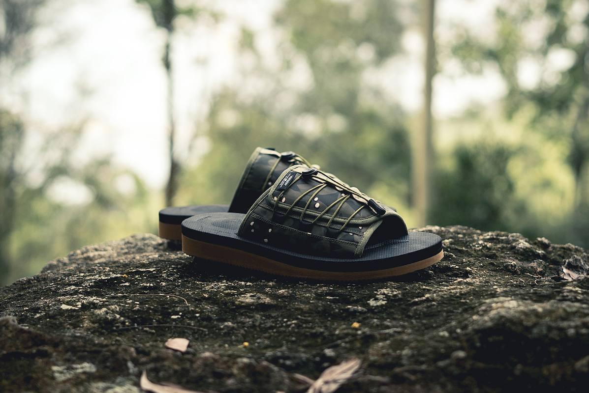suicoke clot sandalias collab 5 - CLOT e SUICOKE colaboram em sandálias com print camuflado