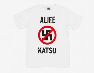 ALIFE e grafiteiro Katsu lançam collab antinazista