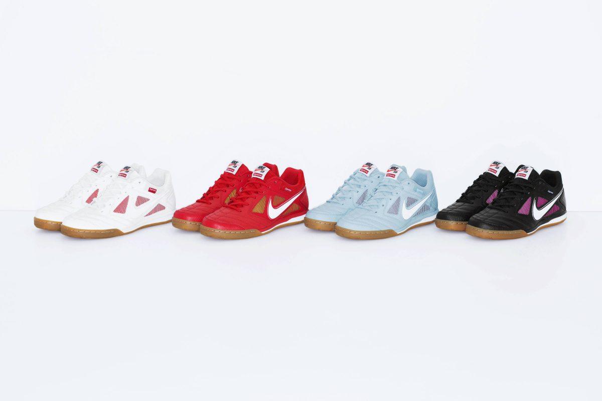 supreme nike sb lunar gato 10 - Supreme e Nike SB lançam novas versões do Lunar Gato