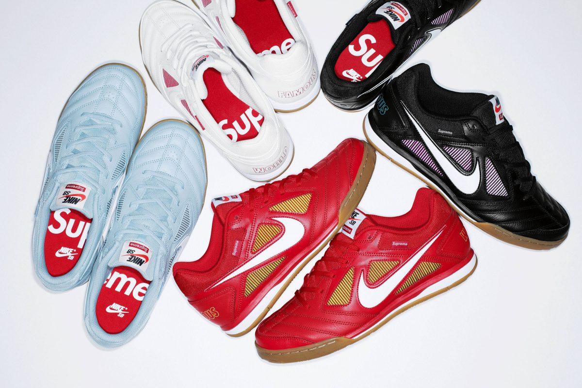 Supreme e Nike SB lançam novas versões do Lunar Gato