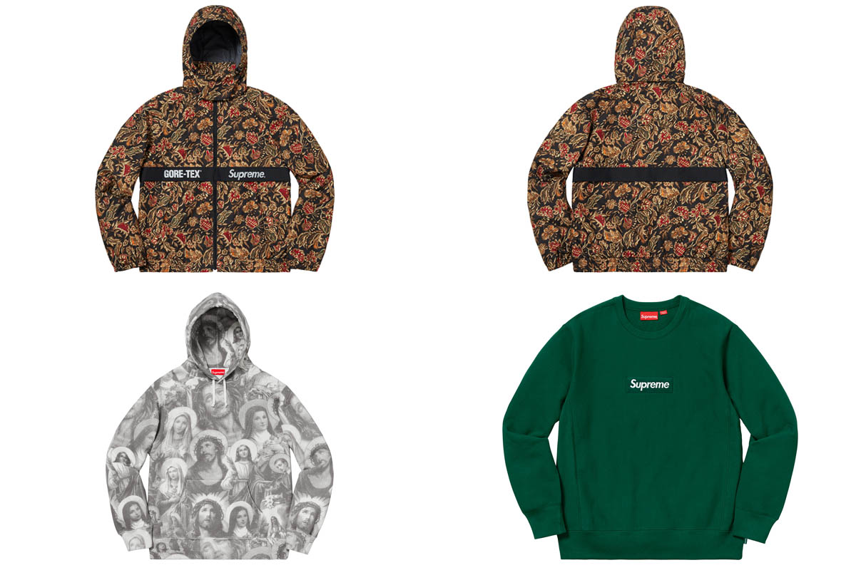 supreme outono inverno 2018 vestuario 2 - Supreme Outono/Inverno 2018 - Vestuário
