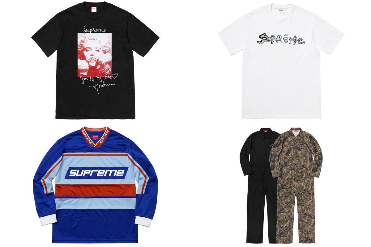 supreme outono inverno 2018 vestuario 3 - Supreme Outono/Inverno 2018 - Vestuário