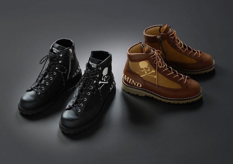 mastermind e Danner colaboram em dupla de botas