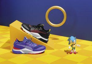 PUMA e SEGA trazem para o Brasil novos modelos inspirados no Sonic