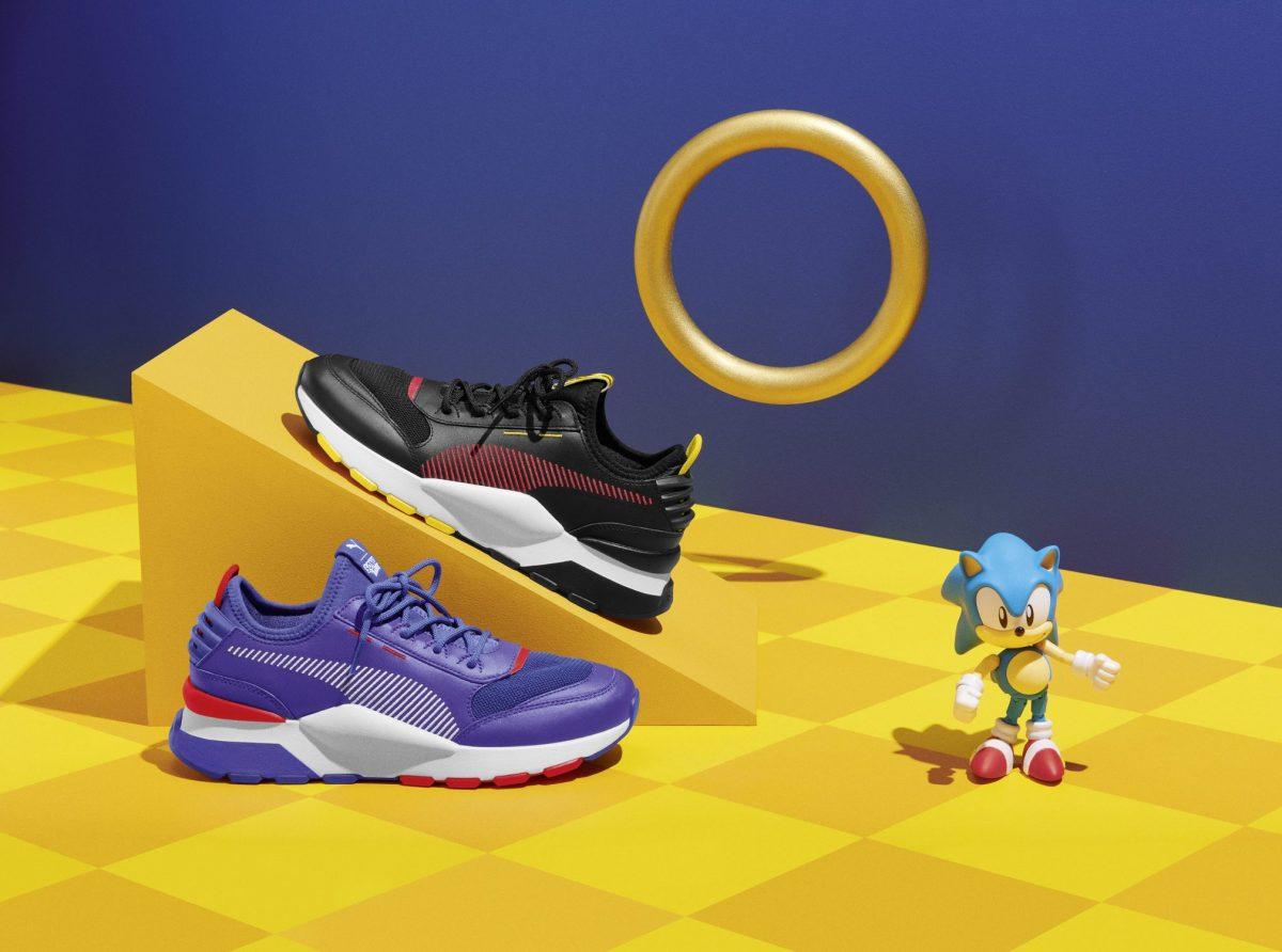 puma sega sonic segundo drop 01 - PUMA e SEGA trazem para o Brasil novos modelos inspirados no Sonic