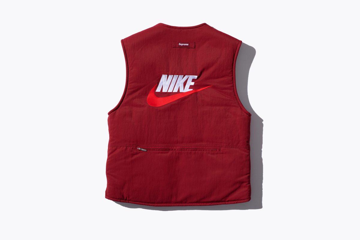 supreme nike colalb 2018 10 - Conforto é foco de parceria entre Supreme e Nike