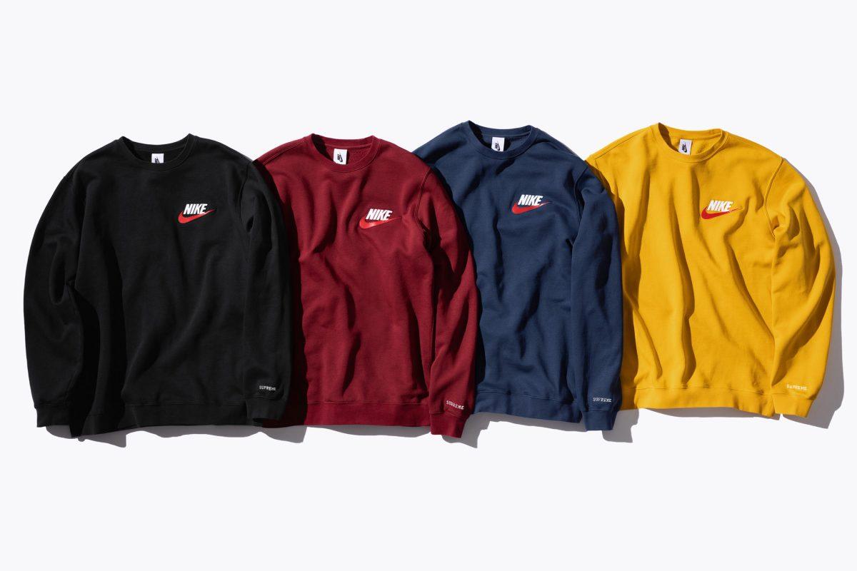 supreme nike colalb 2018 22 - Conforto é foco de parceria entre Supreme e Nike