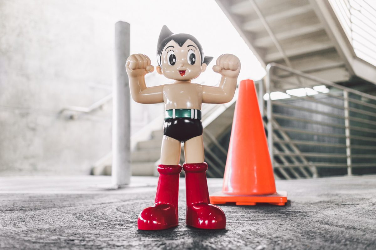 bait astro boy classic figure 1 - BAIT vai lançar toy limitado do personagem Astro Boy