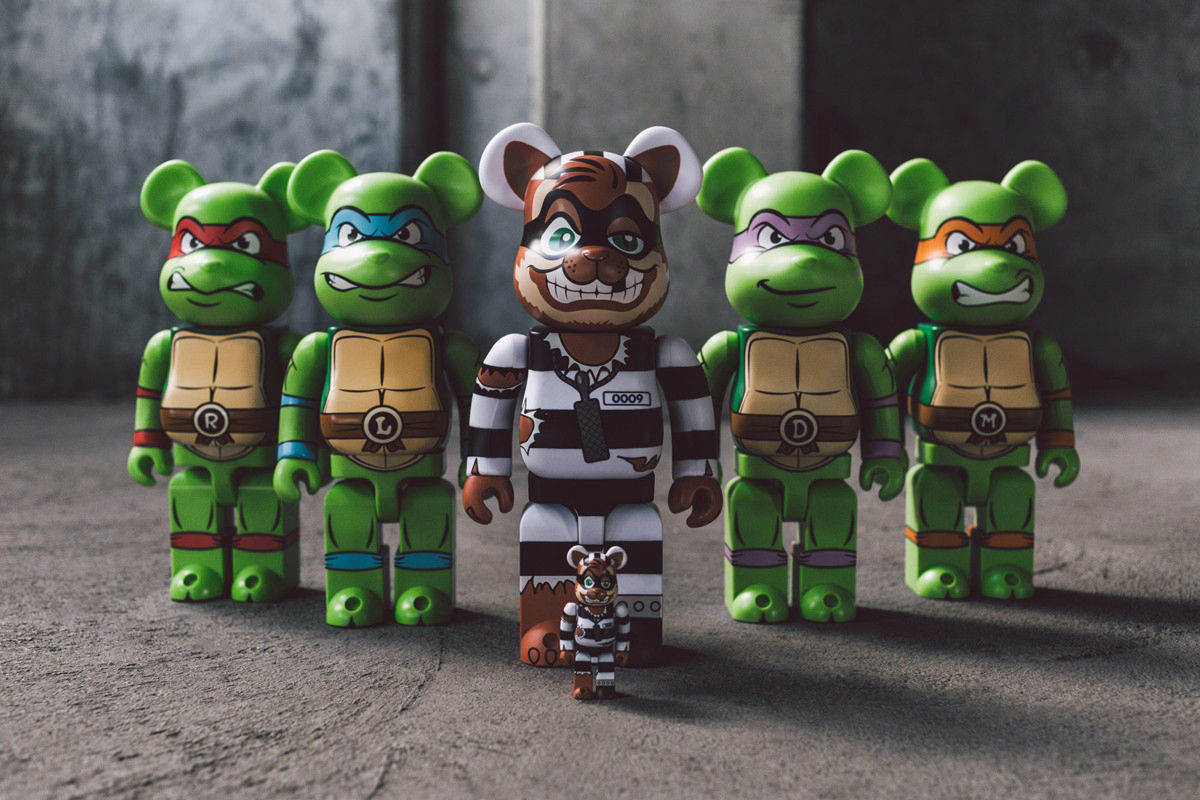 bait medicom teenage mutant ninja turtles bearbrick 01 - BAIT e Medicom lançam toy de personagem das Tartarugas Ninja