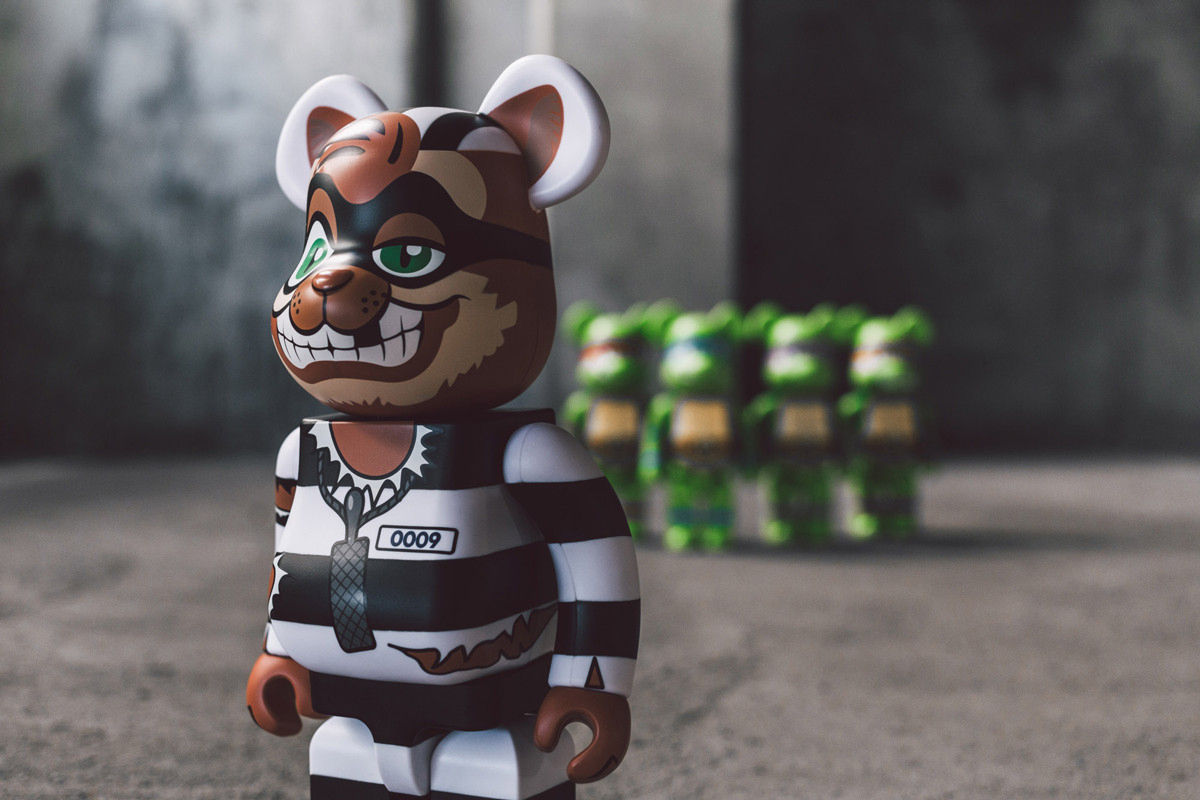 bait medicom teenage mutant ninja turtles bearbrick 03 - BAIT e Medicom lançam toy de personagem das Tartarugas Ninja