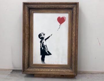 Banksy revela que pintura deveria ter sido totalmente destruída