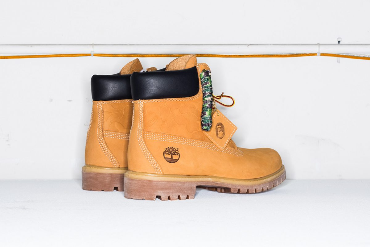 bape timberland undefeated bota 6 inch collab 2 - BAPE, Timberland e UNDEFEATED lançam versão da bota 6 Inch