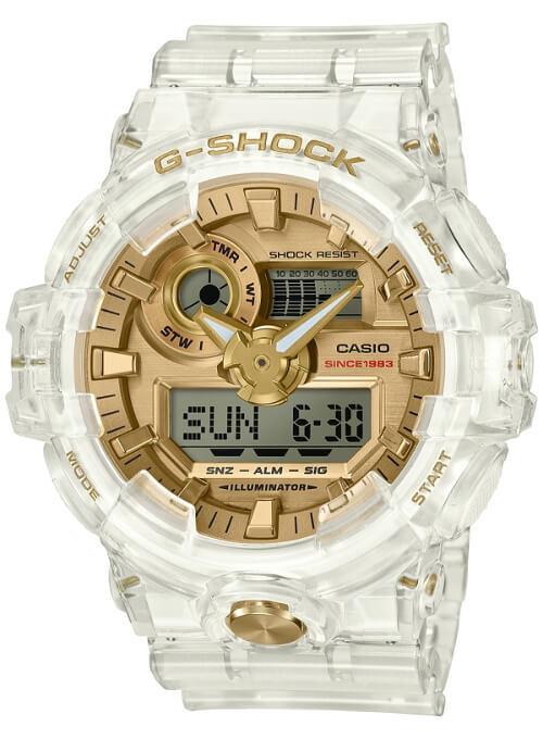 """g shock glacier gold colecao 03 - G-Shock celebra 35 anos com coleção """"Glacier Gold"""""""