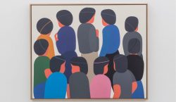 "Geoff McFetridge lança exibição solo ""Coming Back Is Half The…"