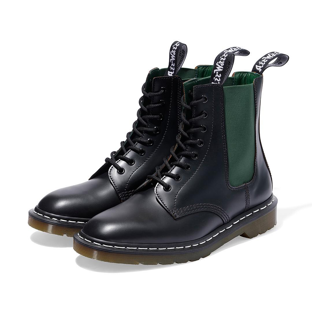 neighborhood dr martens collab 6 - NEIGHBORHOOD colabora pela primeira vez com Dr. Martens