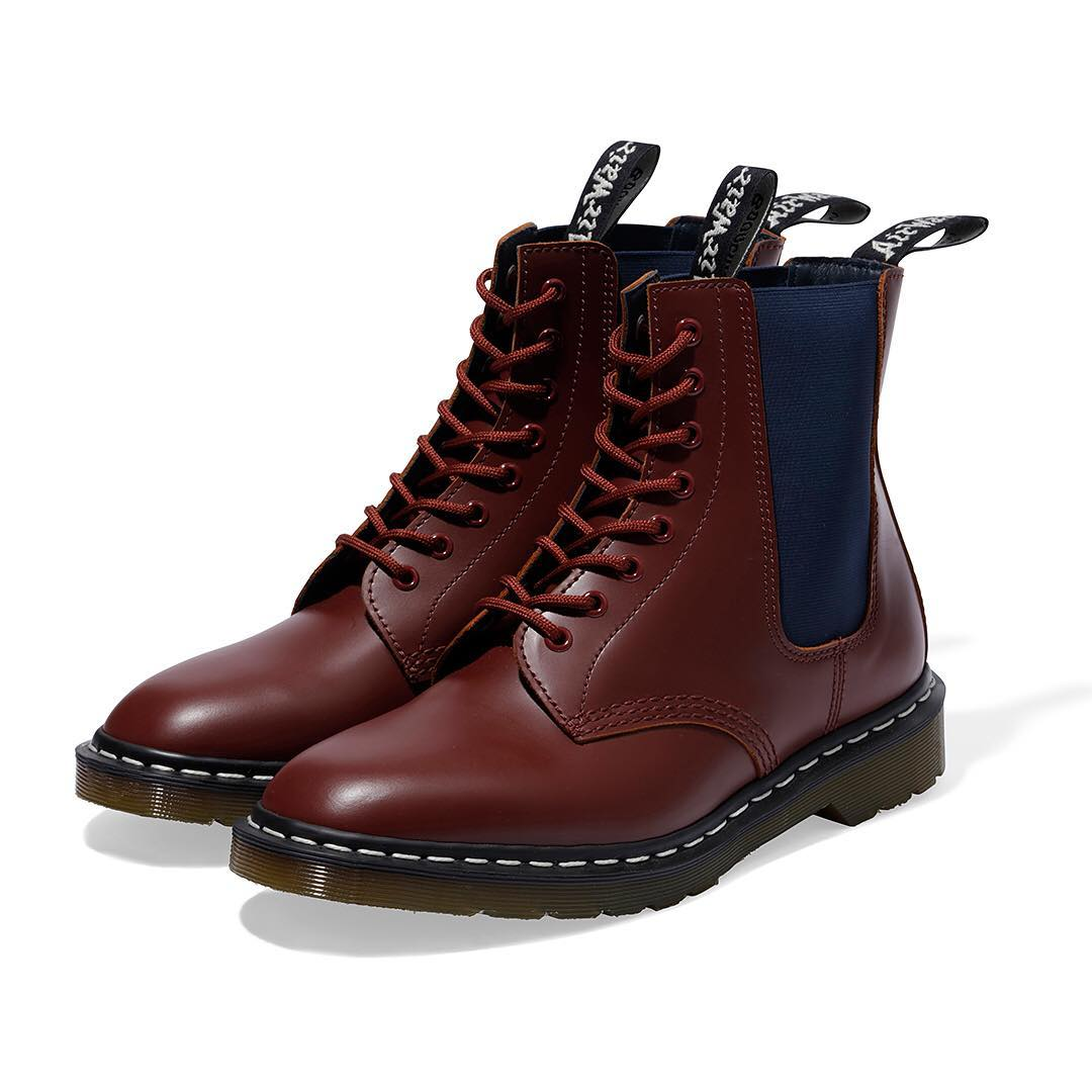 neighborhood dr martens collab 9 - NEIGHBORHOOD colabora pela primeira vez com Dr. Martens