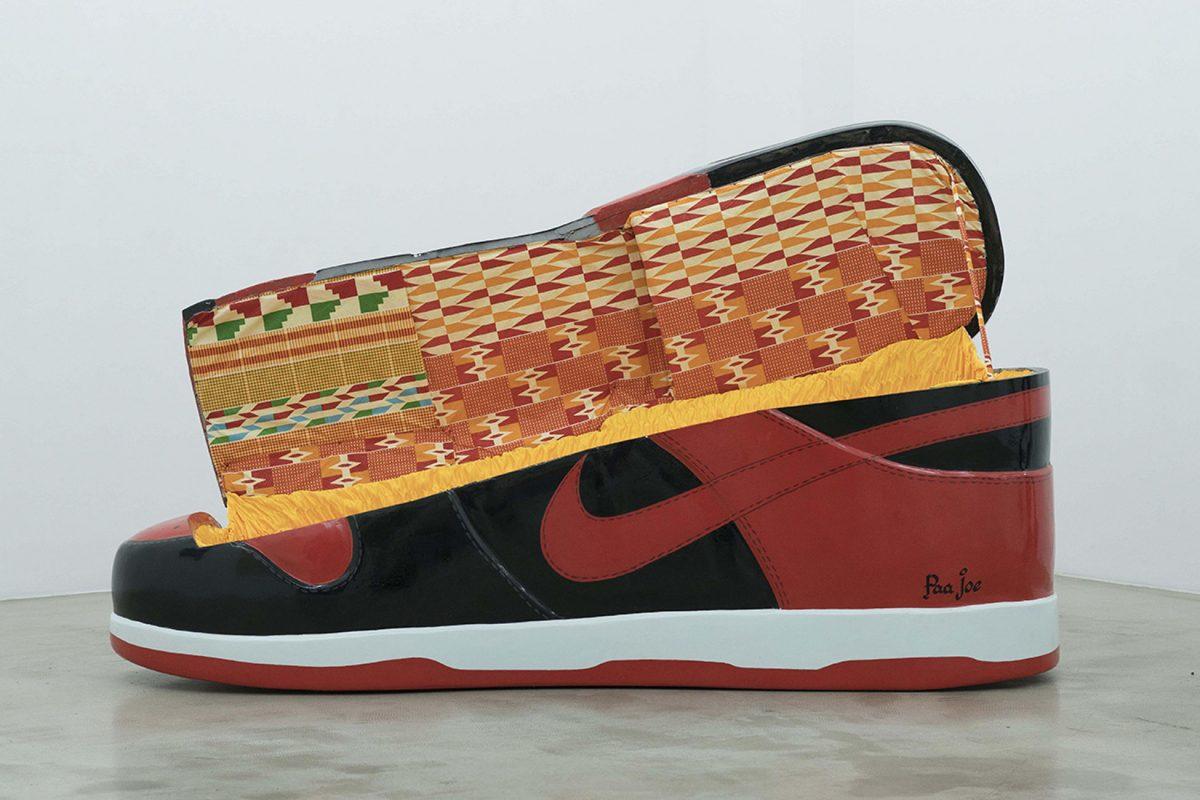 paa joe air jordan 1 bred coffin 1 - Paa Joe cria caixões em formato de tênis clássicos da Nike
