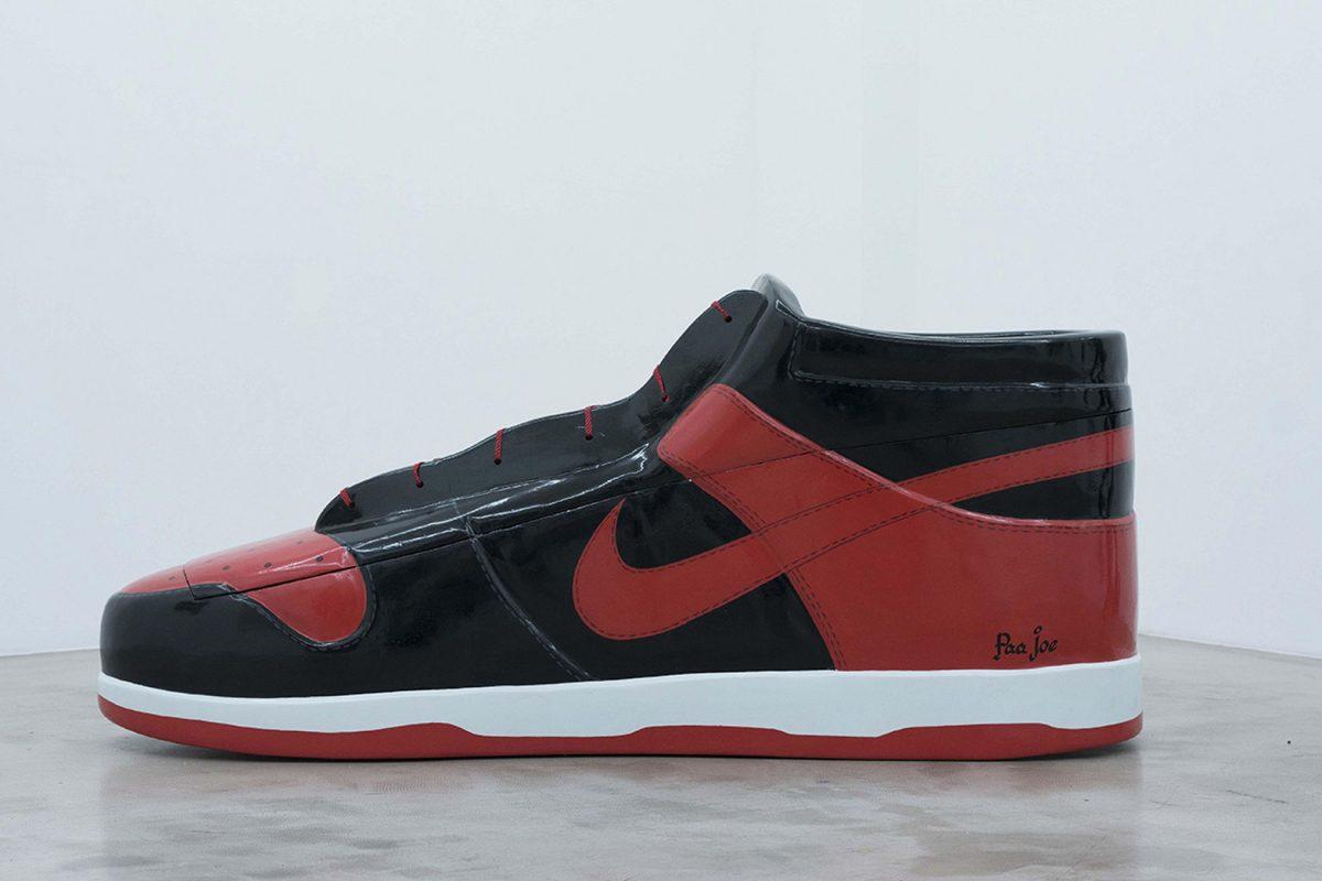 paa joe air jordan 1 bred coffin 2 - Paa Joe cria caixões em formato de tênis clássicos da Nike