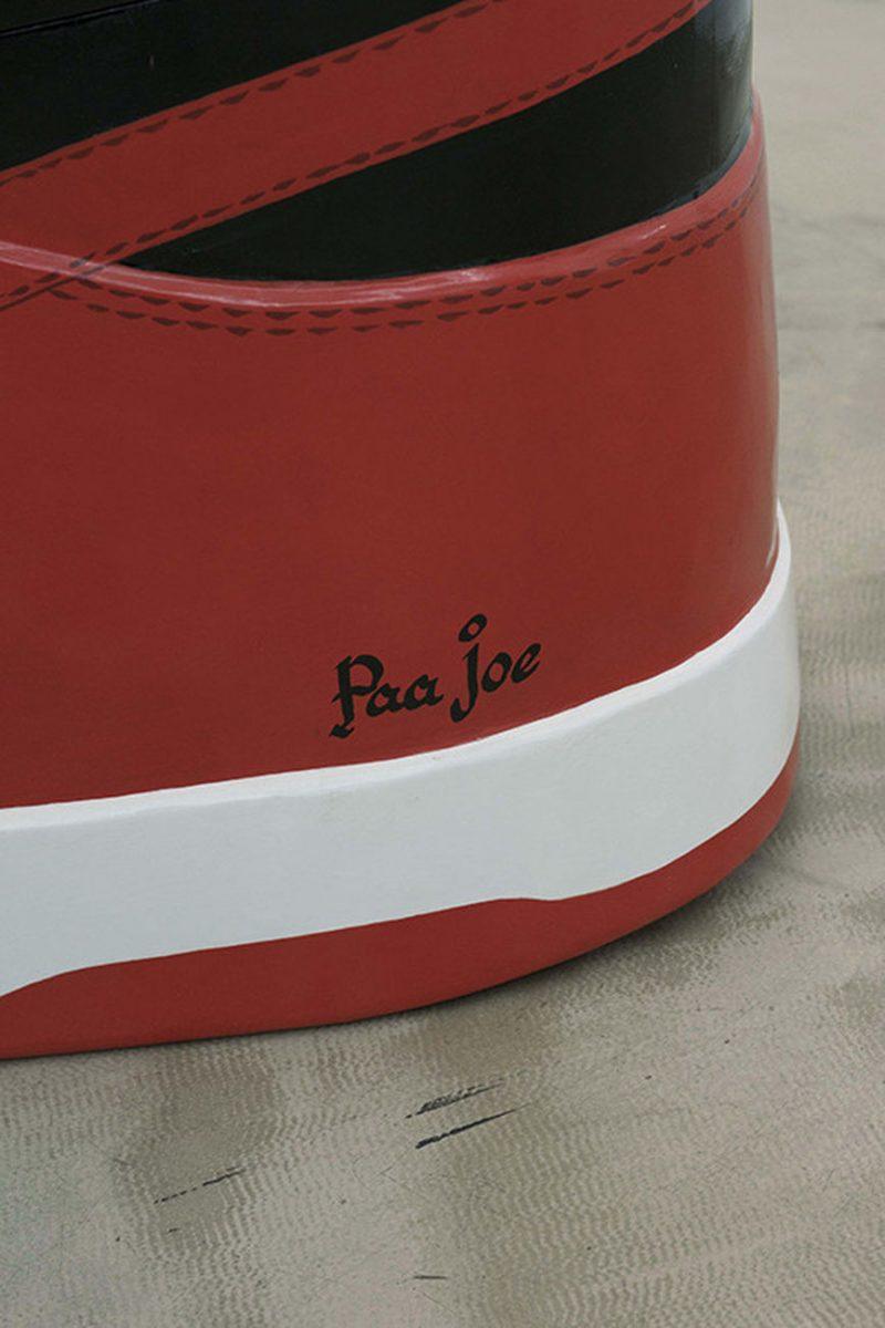 paa joe air jordan 1 bred coffin 4 - Paa Joe cria caixões em formato de tênis clássicos da Nike