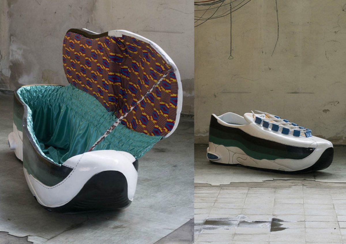 paa joe air max 95 coffin 1 - Paa Joe cria caixões em formato de tênis clássicos da Nike