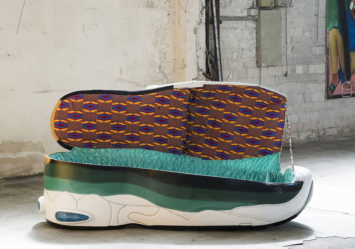 paa joe air max 95 coffin 2 - Paa Joe cria caixões em formato de tênis clássicos da Nike