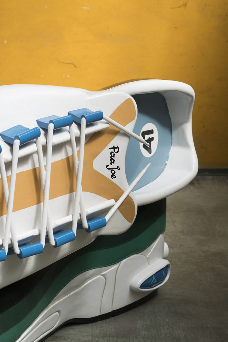 paa joe air max 95 coffin 3 - Paa Joe cria caixões em formato de tênis clássicos da Nike