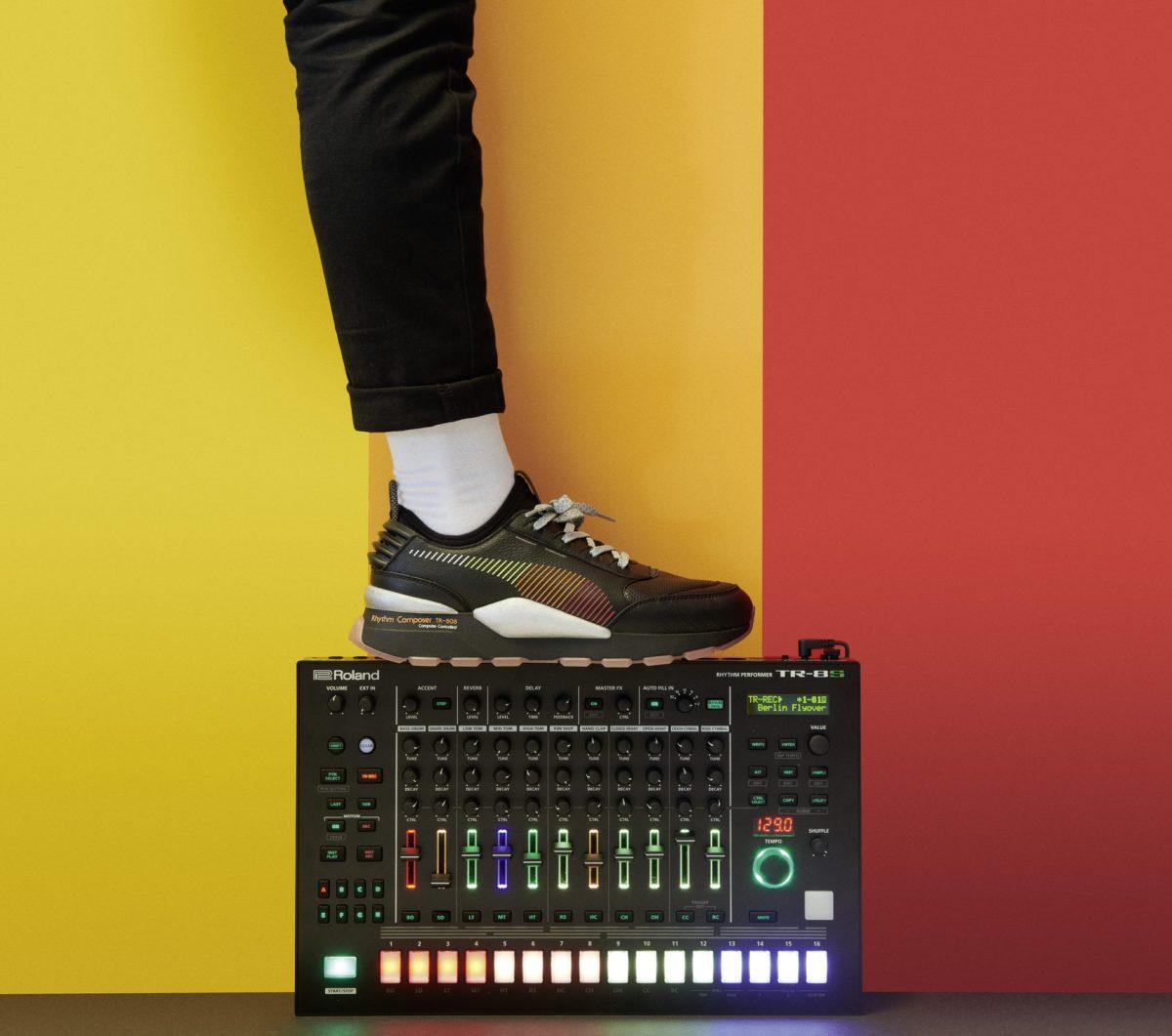 puma rs0 roland 01 - PUMA lança tênis inspirado em sintetizador da Roland