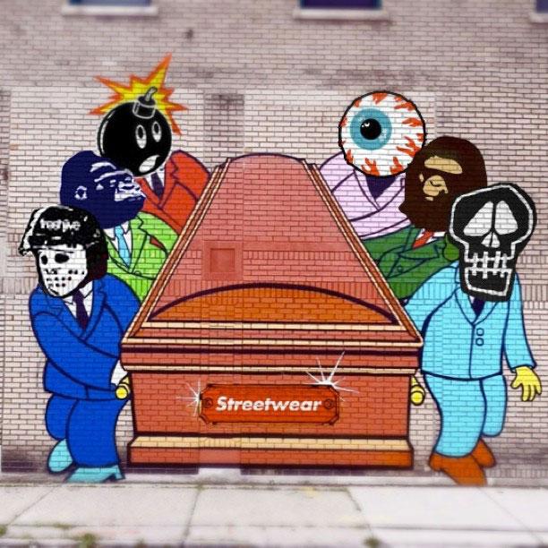 streetwear esta morto mural sever - O streetwear morreu?