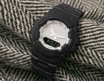 URBAN RESEARCH lança G-SHOCK G-100 minimalista