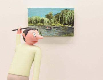 "Jean Jullien exibe ""GIB"" na galeria de Daniel Arsham e Ronnie Fieg"
