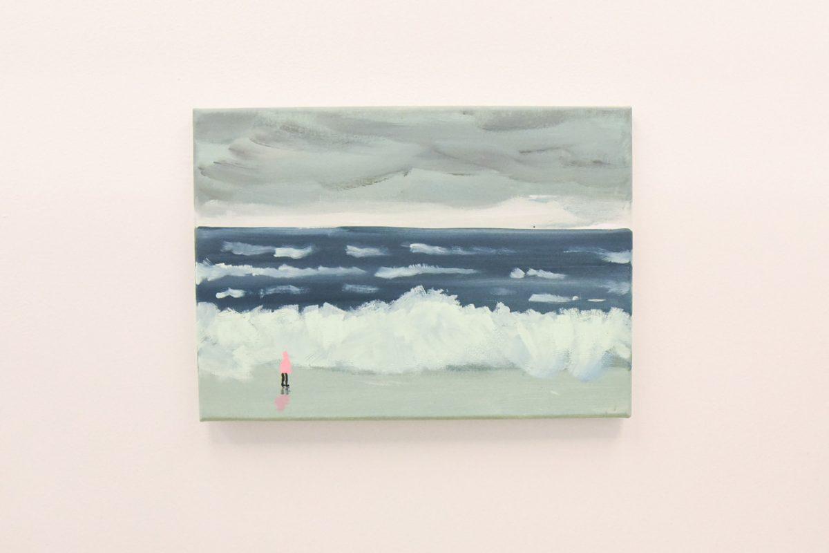 """jean jullien arsham fieg gallery gib exhibition 4 - Jean Jullien exibe """"GIB"""" na galeria de Daniel Arsham e Ronnie Fieg"""