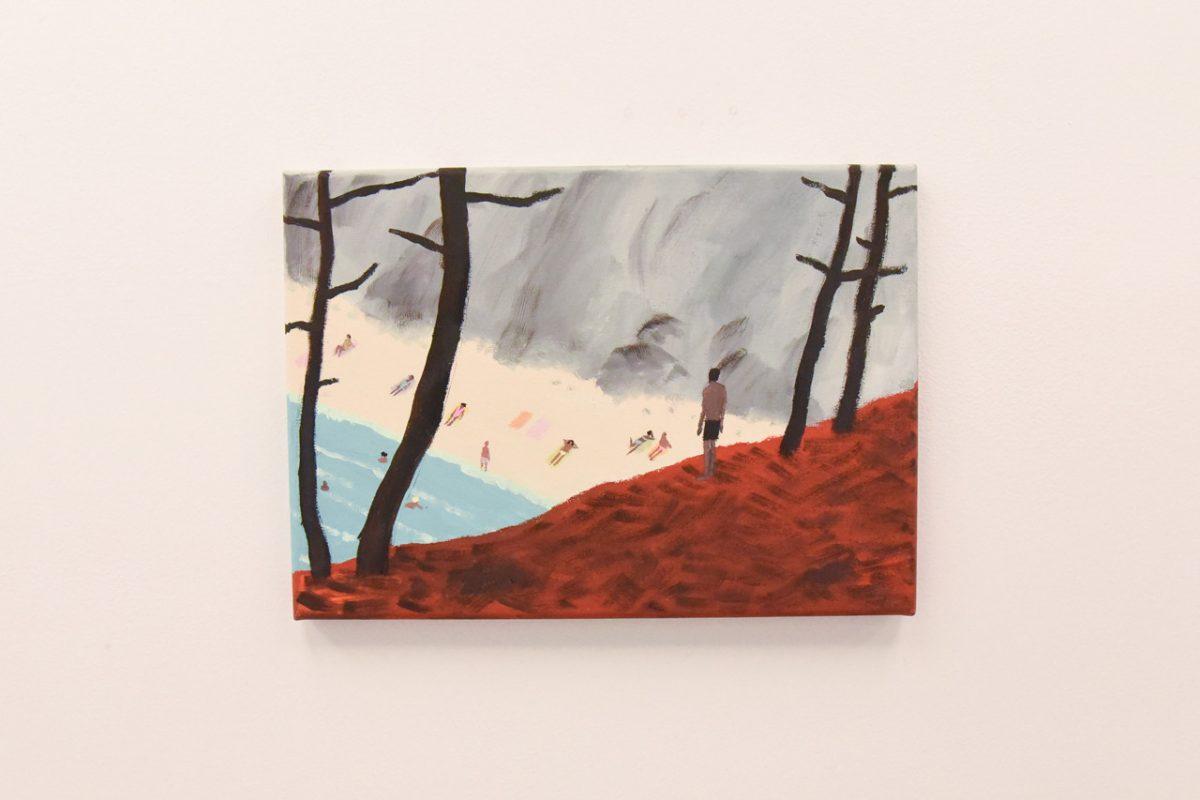 """jean jullien arsham fieg gallery gib exhibition 6 - Jean Jullien exibe """"GIB"""" na galeria de Daniel Arsham e Ronnie Fieg"""