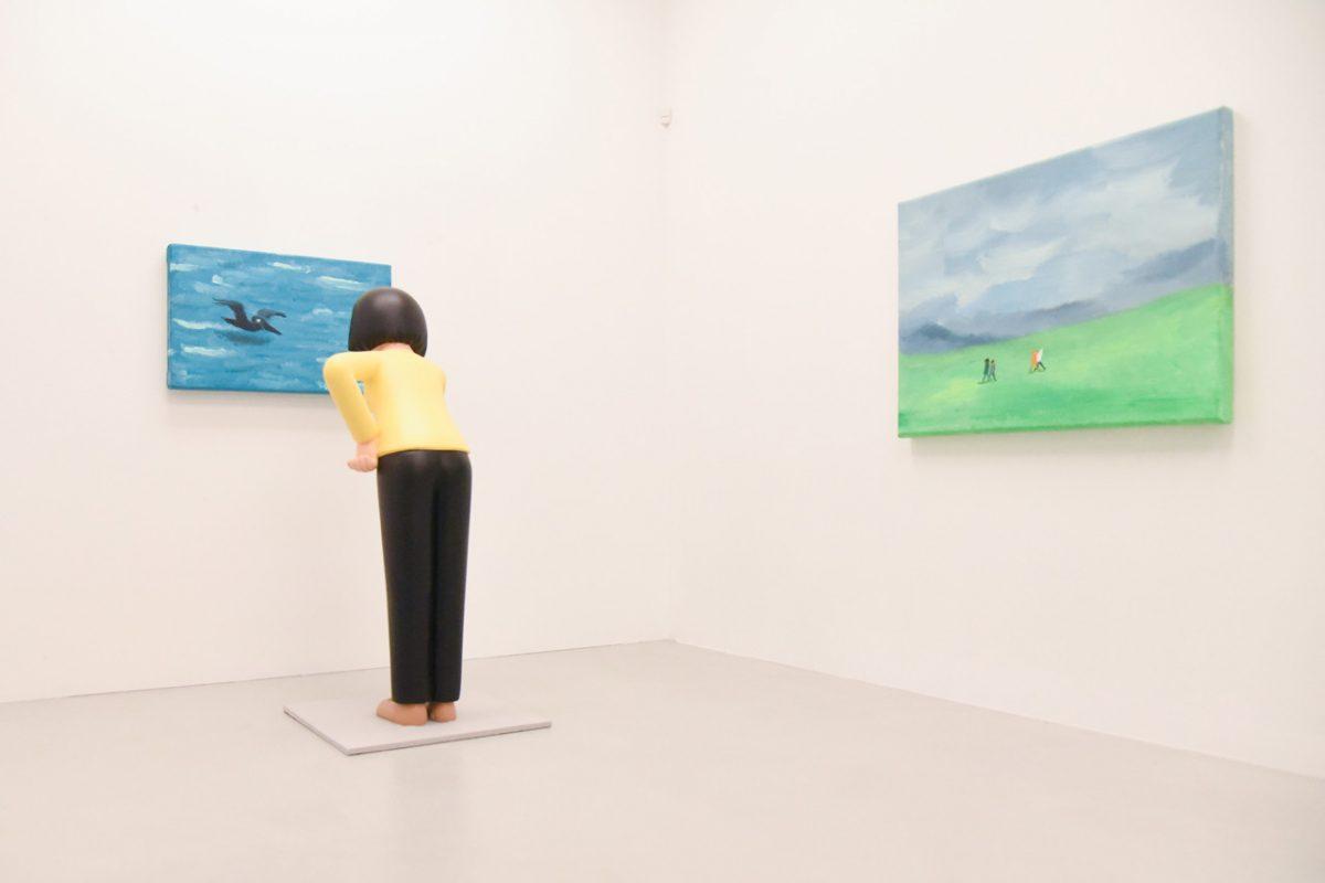 """jean jullien arsham fieg gallery gib exhibition 7 - Jean Jullien exibe """"GIB"""" na galeria de Daniel Arsham e Ronnie Fieg"""
