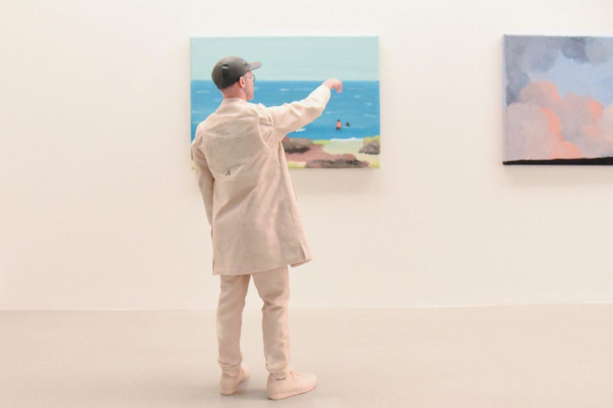 """jean jullien arsham fieg gallery gib exhibition 9 - Jean Jullien exibe """"GIB"""" na galeria de Daniel Arsham e Ronnie Fieg"""
