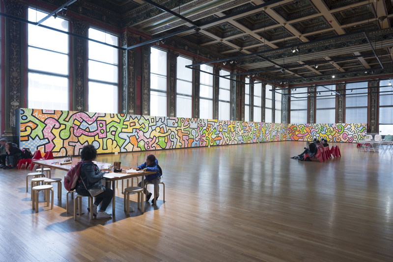 keith haring the chicago mural james 02 - Estive por lá: Keith Haring - The Chicago Mural