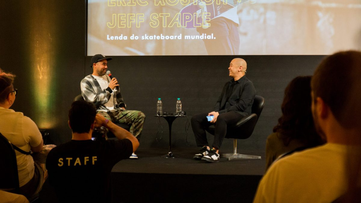 maze fest streetwear brasil talk eric koston jeff staple 3 - Maze Fest - O que rolou no talk entre Jeff Staple e Eric Koston