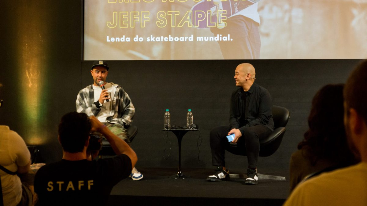 maze fest streetwear brasil talk eric koston jeff staple 4 - Maze Fest - O que rolou no talk entre Jeff Staple e Eric Koston