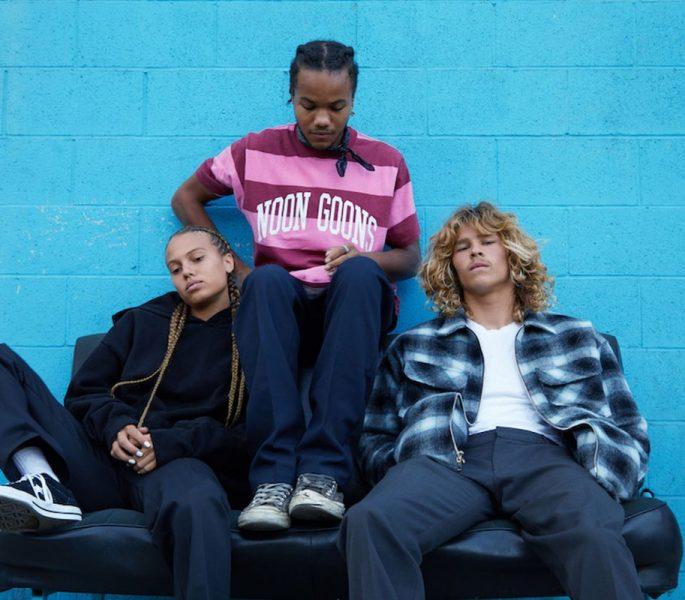 Noon Goons traz seu surf punk em coleção primavera/verão