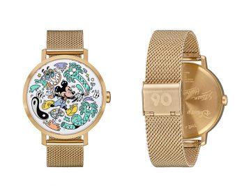 Nixon e Steven Harrington celebram aniversário de Mickey Mouse com relógios limitados