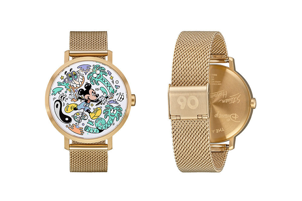 steven harrington disney nixon watches mickey mouse 1 - Nixon e Steven Harrington celebram aniversário de Mickey Mouse com relógios limitados
