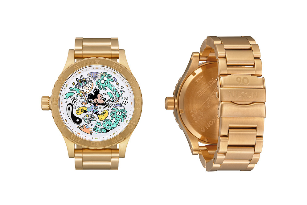 steven harrington disney nixon watches mickey mouse 2 - Nixon e Steven Harrington celebram aniversário de Mickey Mouse com relógios limitados