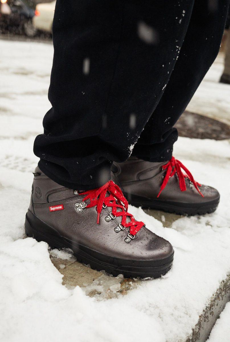 supreme timberland outono inverno 2018 03 - Supreme e Timberland trazem bota de caminhada em parceria