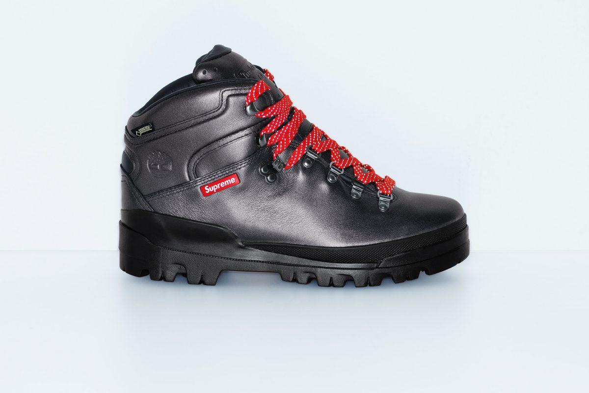 supreme timberland outono inverno 2018 04 - Supreme e Timberland trazem bota de caminhada em parceria