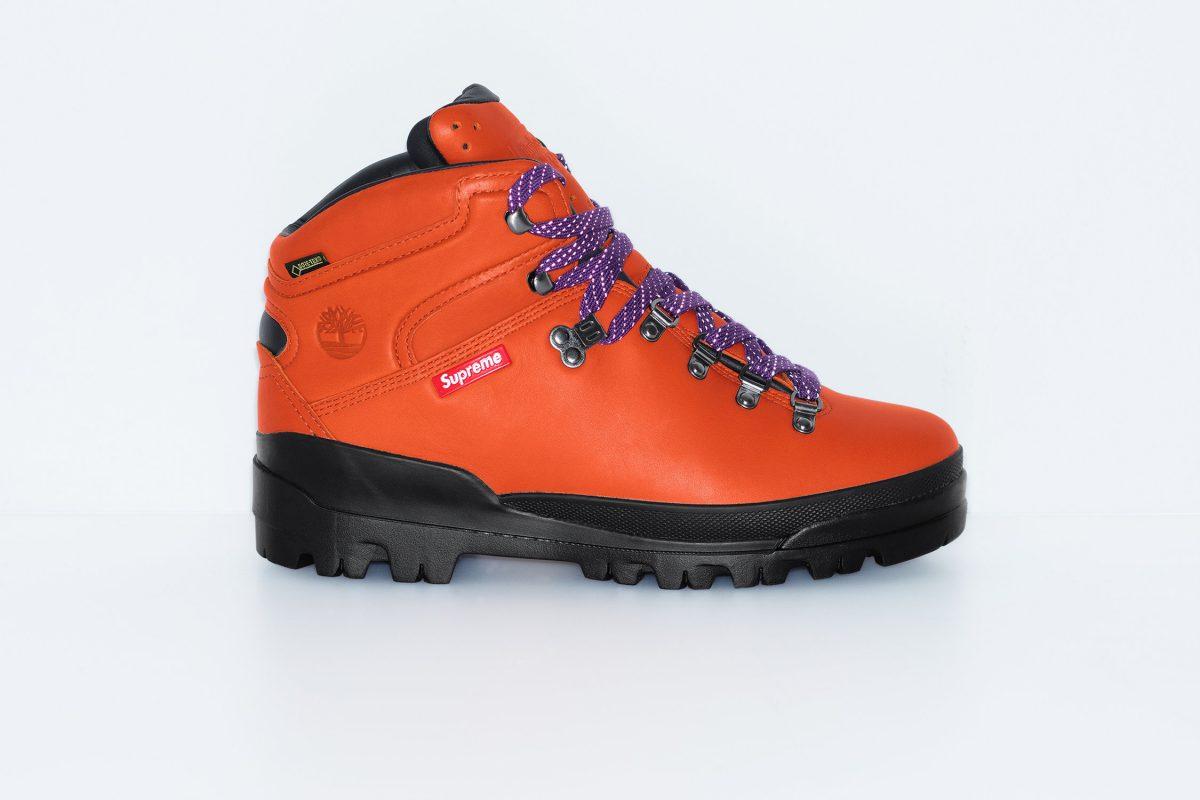 supreme timberland outono inverno 2018 07 - Supreme e Timberland trazem bota de caminhada em parceria