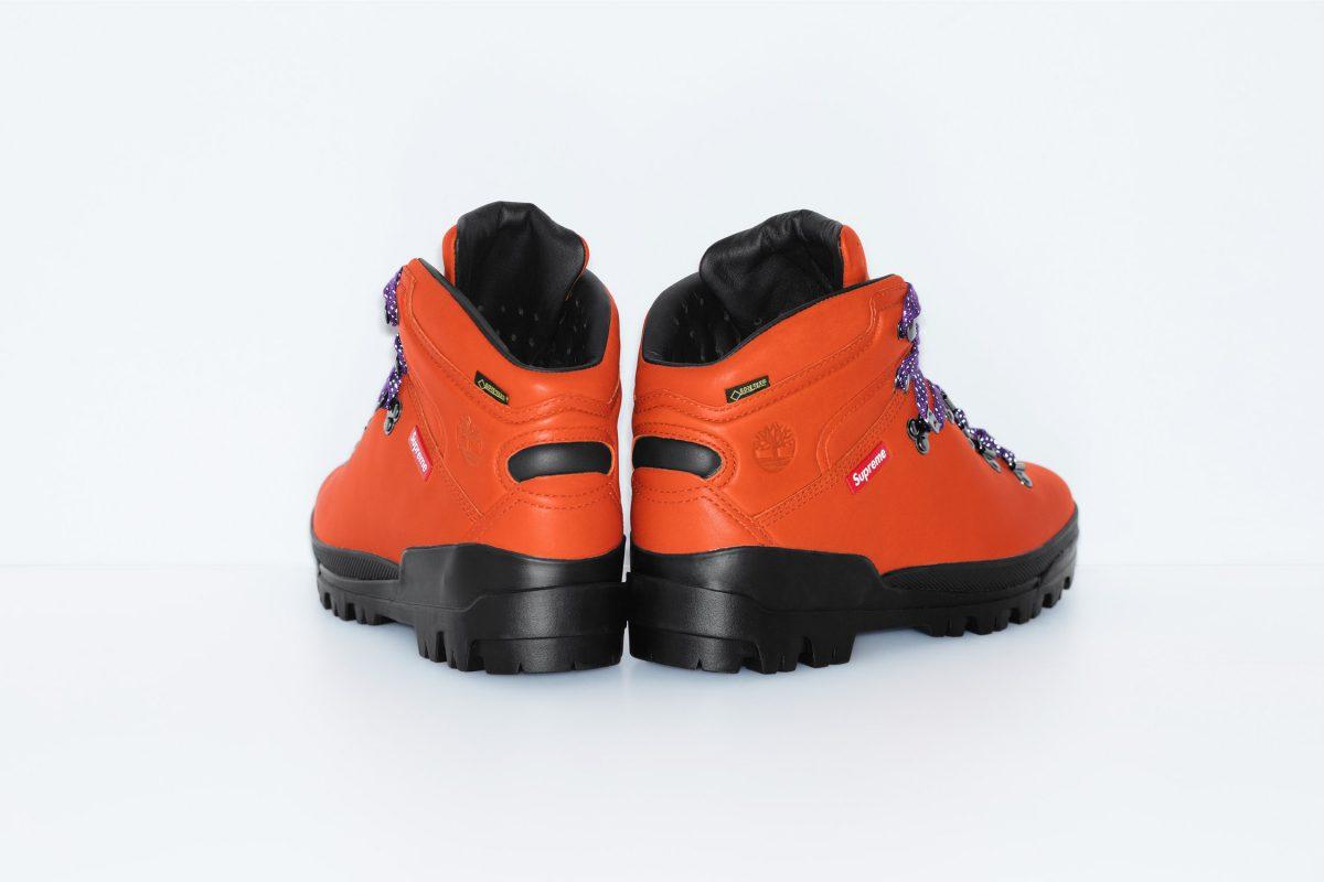 supreme timberland outono inverno 2018 09 - Supreme e Timberland trazem bota de caminhada em parceria
