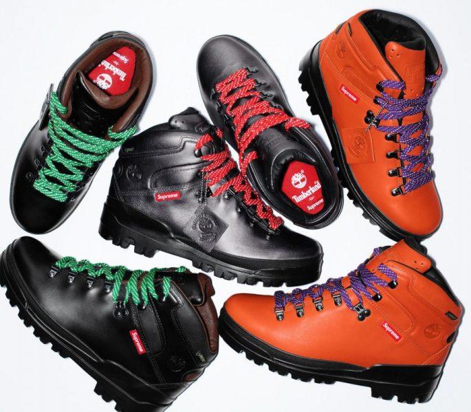 Supreme e Timberland trazem bota de caminhada em parceria